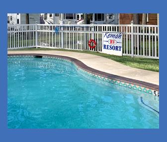 Fresh Blue Swimming